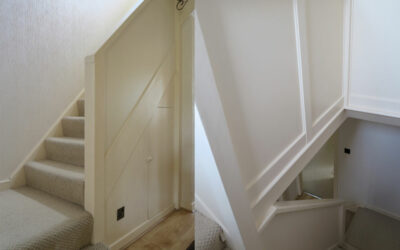 Panelled staircase renovation in Hale, Altrincham