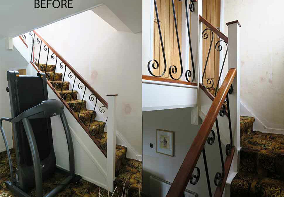 Manchester staircase fully renovated