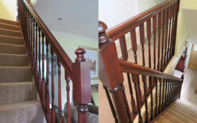 Staircase renovation in Stockport, Cheshire