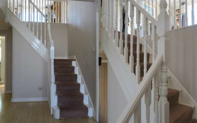 Staircase refurbishment in Warrington, Cheshire