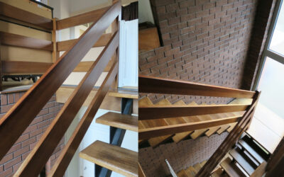 Ranch style Staircase renovation in Cheshire