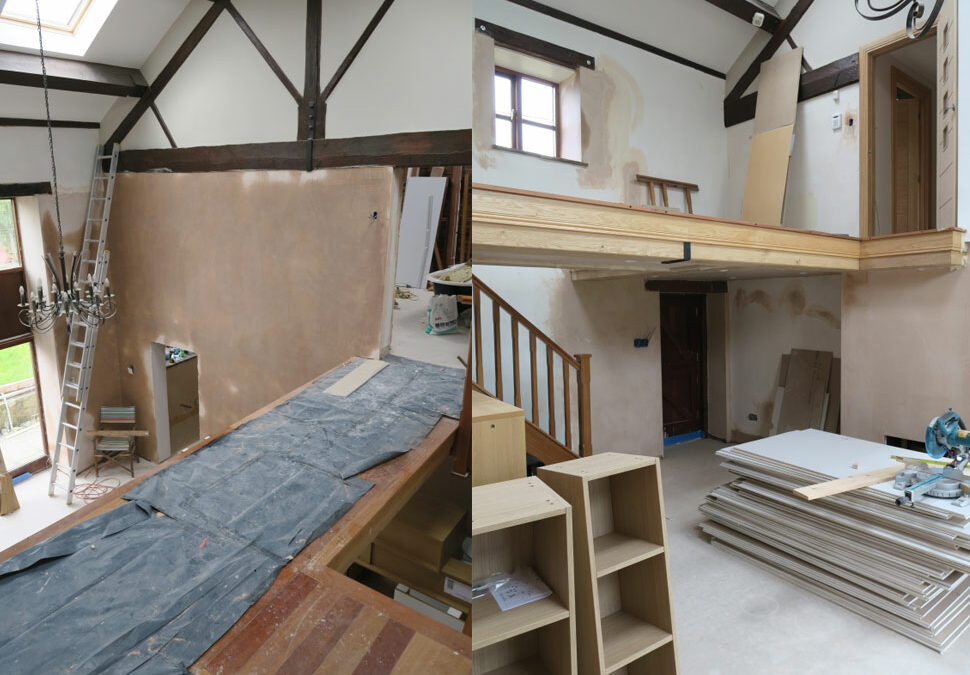 Staircase renovation in Cheshire