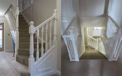 Warrington staircase transformed
