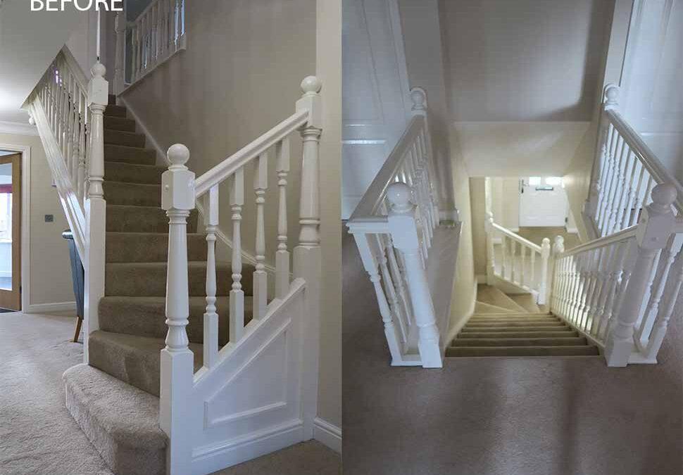 Warrington staircase transformed