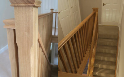 Stunning maintenance free staircases