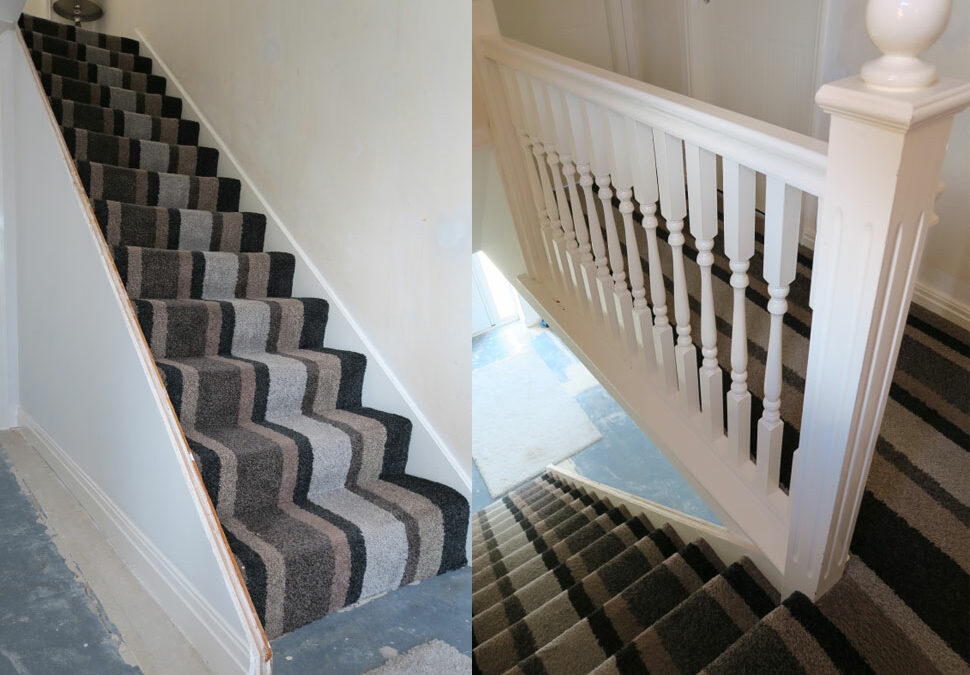 Modern staircase renovations with no mess or stress