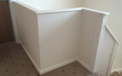 Bored of your old panelled staircase?