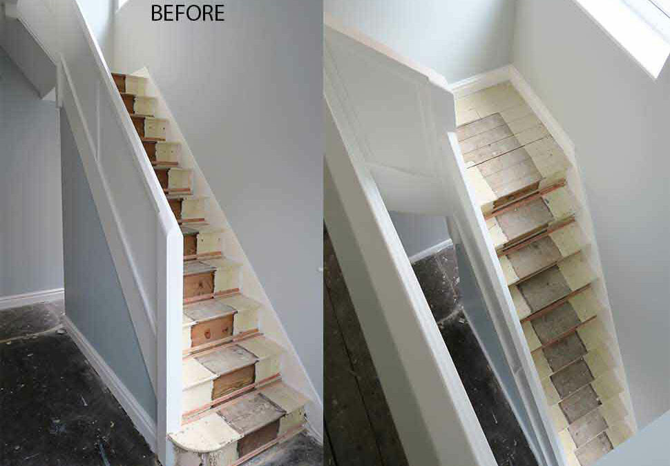 Complete staircase renovation in Great Moor, Stockport